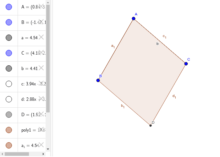 Lesson 7: Construction of a Parallelogram Press Enter to start activity
