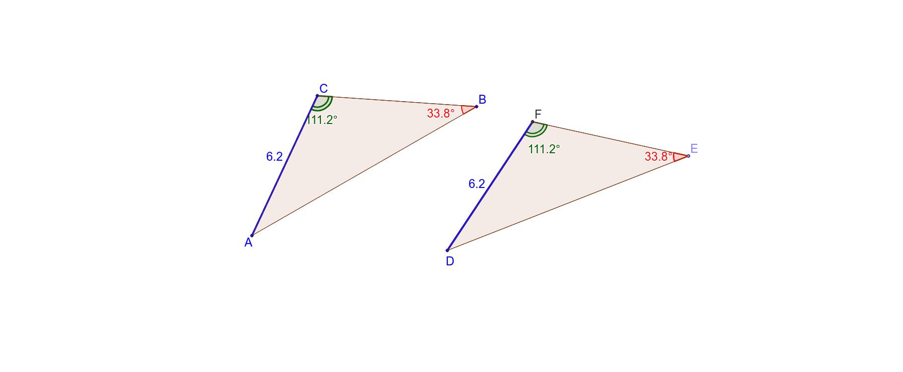 Angle-Angle-Side Press Enter to start activity