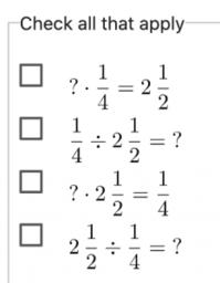 Solving Problems Involving Fractions: IM 6.4.16