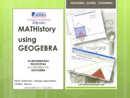 MATHistory using Geogebra