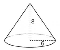 The Volume of a Cone: IM 8.5.15