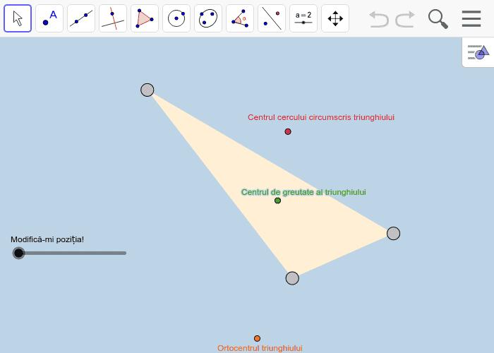 GeoGebra Applet Apăsați Enter pentru a începe activitatea