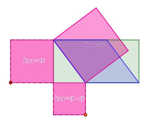 Mova o vértice vermelho para baixo e o vértice laranja para a esquerda até onde for possível e responda as perguntas a seguir. Press Enter to start activity