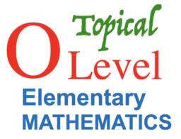 E Math O Level Topical