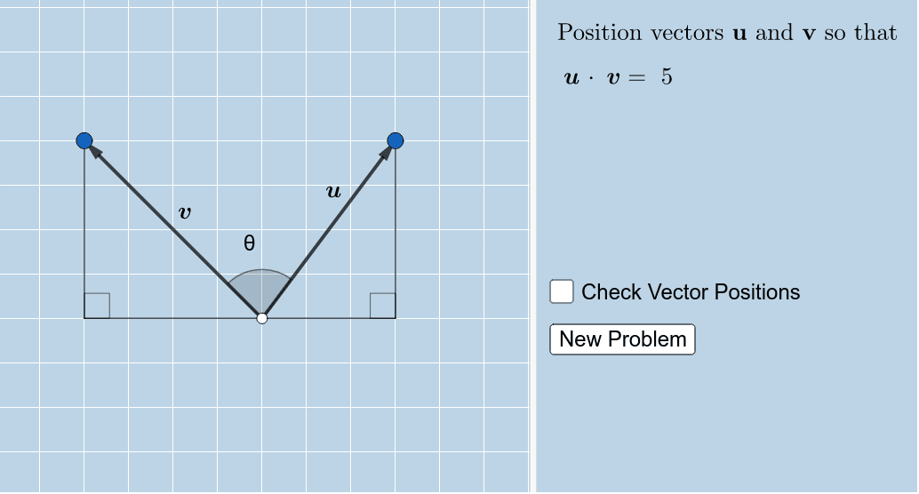 NOTE: Only the LARGE POINTS are moveable.  Press Enter to start activity