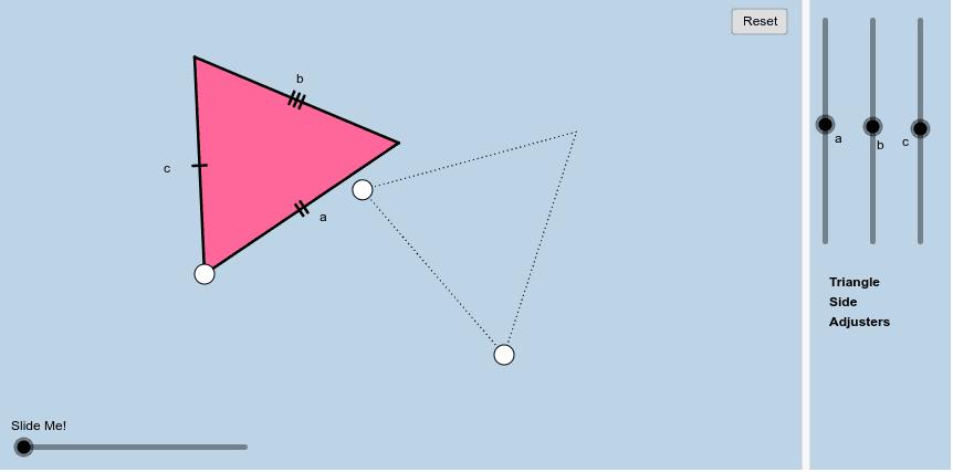 SSS Simulation (Brezinski, n.d.-c) Press Enter to start activity