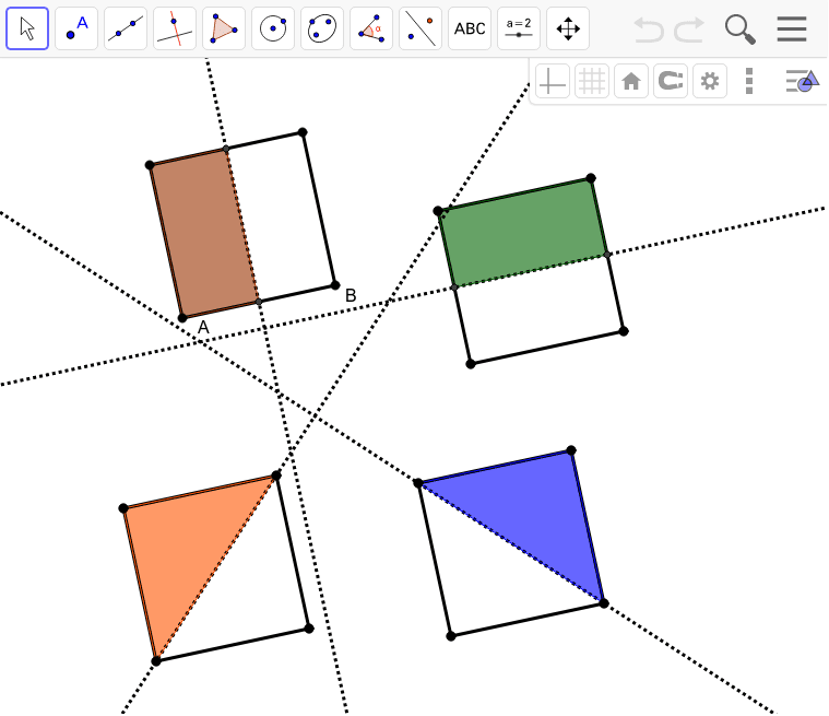 Square Reflection Symmetry Press Enter to start activity