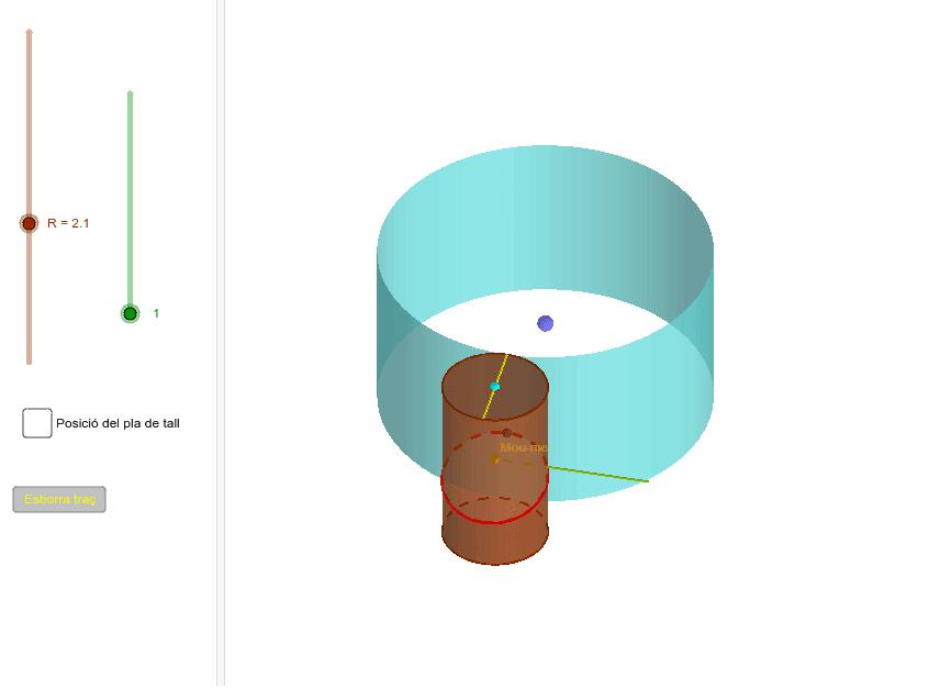 Una variant amb dos moviments: rectilini i circular Premeu Enter per iniciar l'activitat
