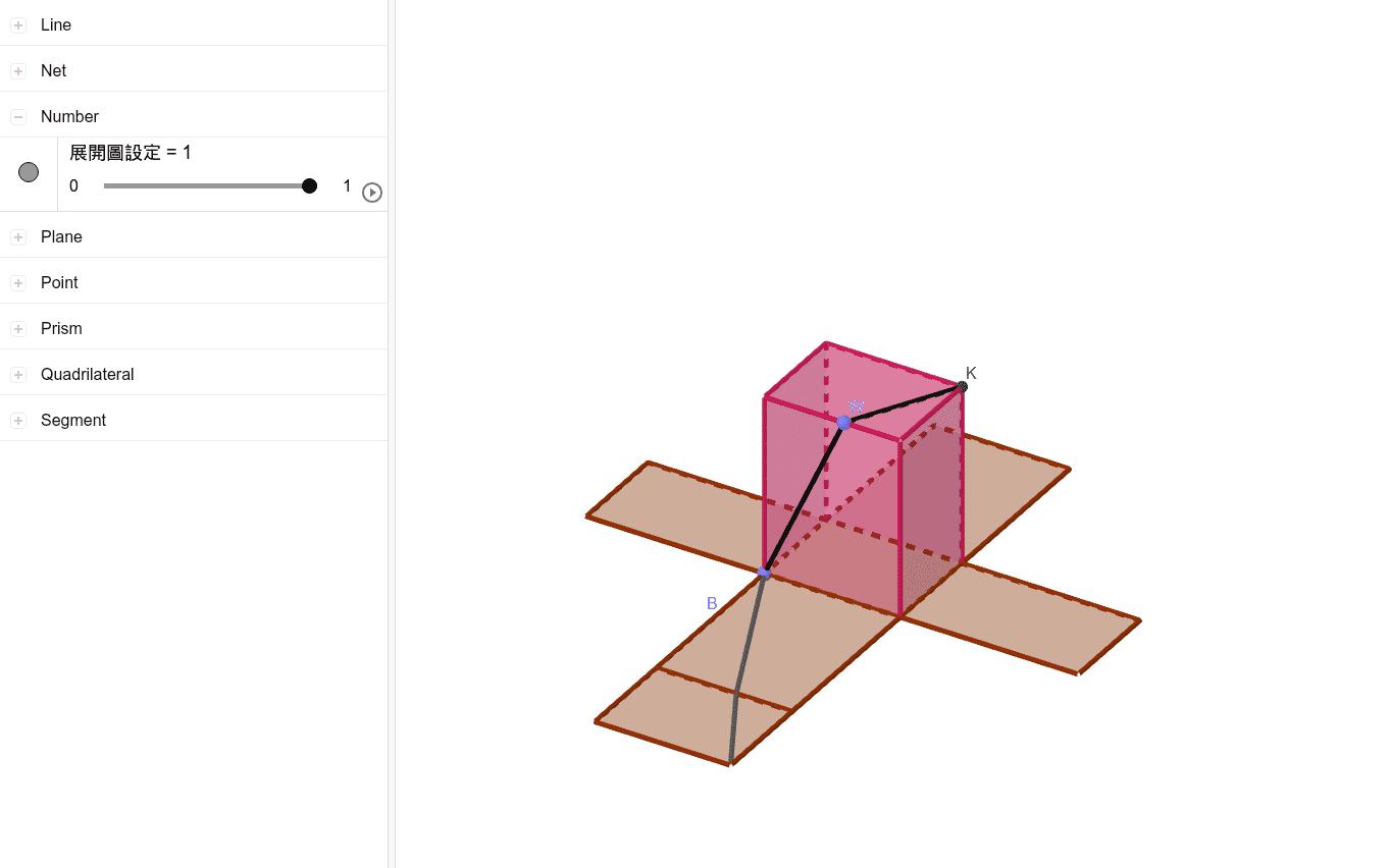 長方體表面路徑變化 按 Enter 鍵開始活動