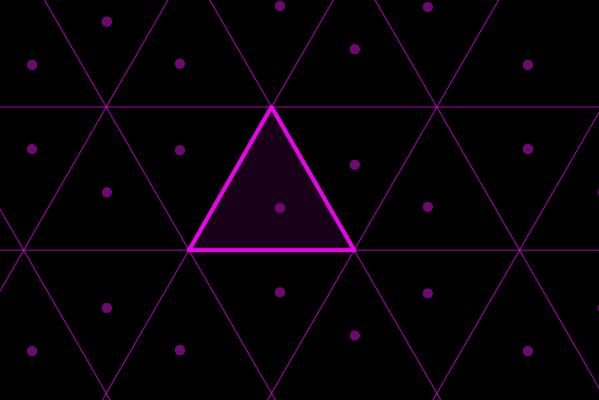 Mueve el punto que está dentro del triángulo destacado. Presiona Intro para comenzar la actividad