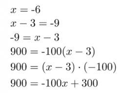 Dealing with Negative Numbers: IM 7.6.9