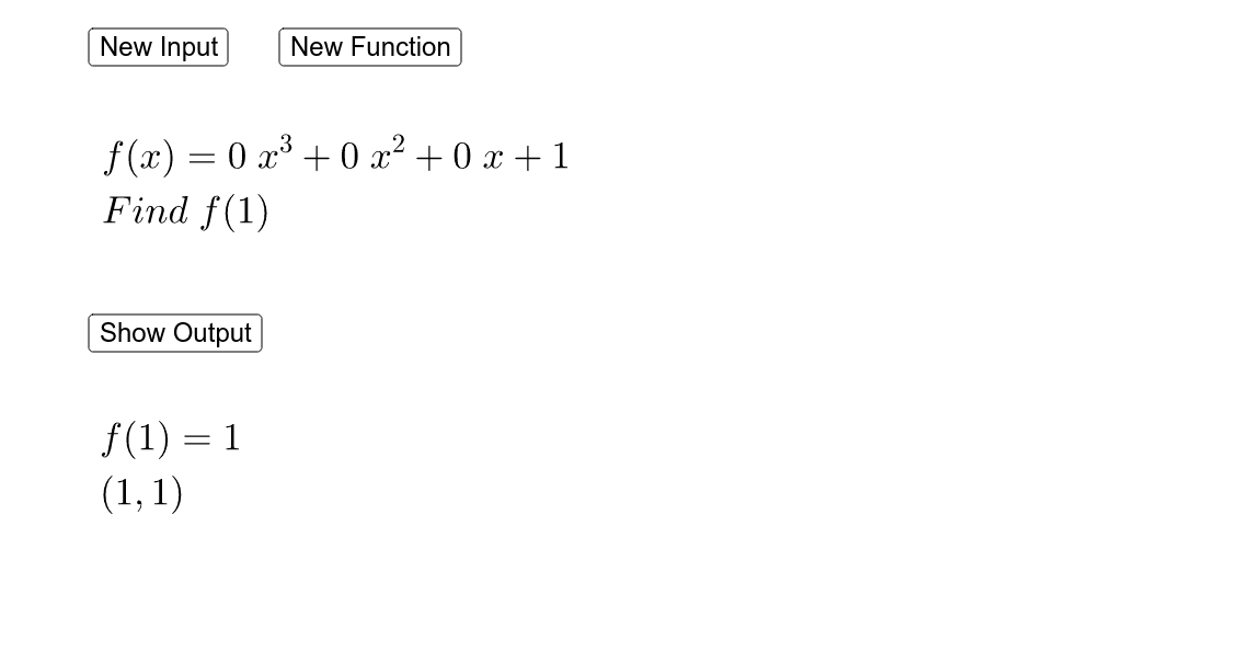 Evaluating Linear Functions Press Enter to start activity