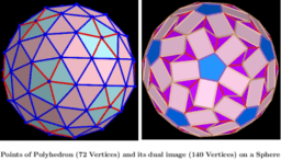 ₇3d shapes:Construction polyhedra. Coloring edges and faces