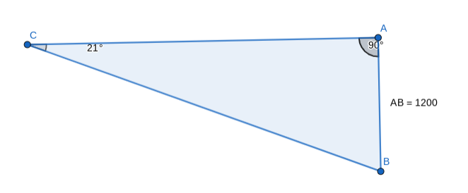 Your final triangle should look like this.