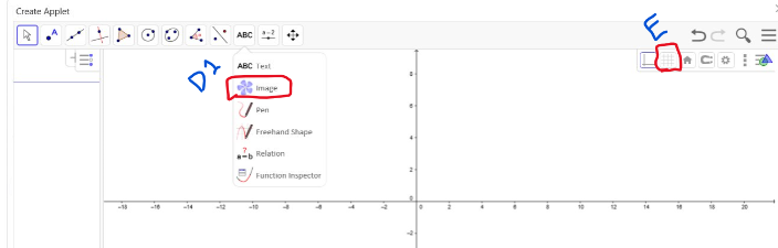 Inserting an Image, and Implementing Grid Graph