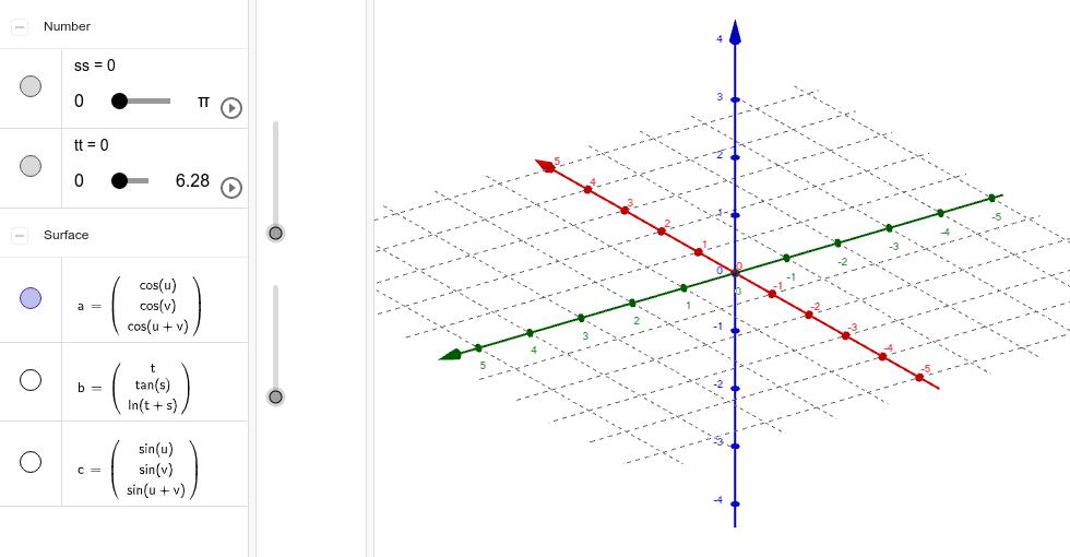 Proceso de construcción de tres superficies Presiona Intro para comenzar la actividad