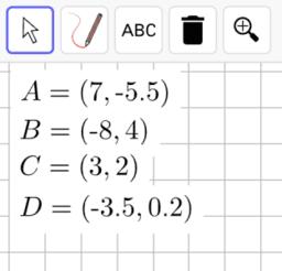 Interpreting Points on a Coordinate Plane: IM 6.7.13