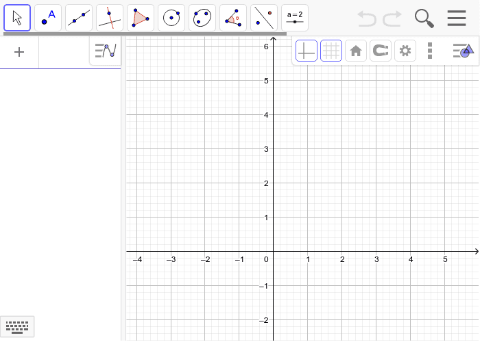 Draw a line that has a positive slope, a line that has a negative slope, a line that has a slope of zero, and a line that has an undefined slope. Press Enter to start activity