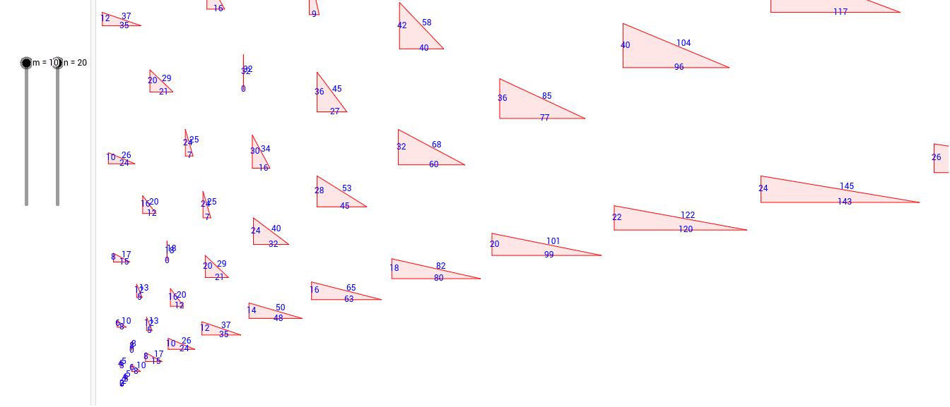 pythagorean triple Press Enter to start activity